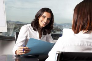 Woman-Interviewing