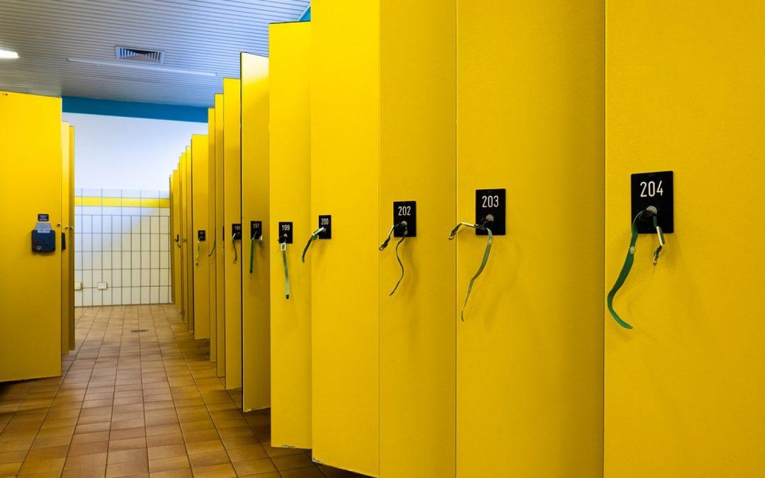 Des vestiaires conçus exclusivement pour le personnel de santé